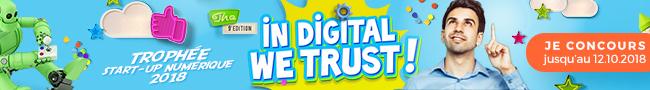 trophée Start-up numérique 2018